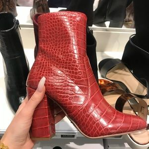 Also Red Boots